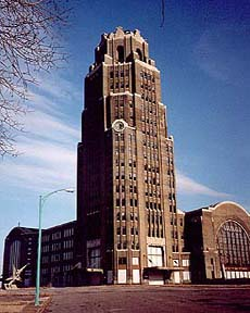 Buffalo Central Terminal's main tower