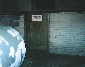 The Entrance to the Machine Room